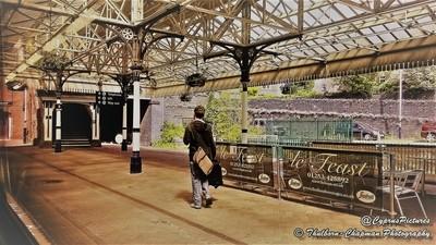 Pretty Railway Station Platform