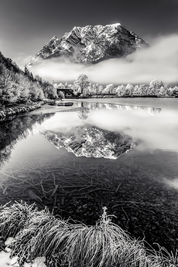 Grimming B/W by hannesmautner - Spectacular Lakes Photo Contest