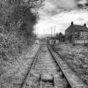 An old train track in Gateshead area