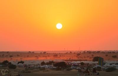 Sunset at Jaisalmer