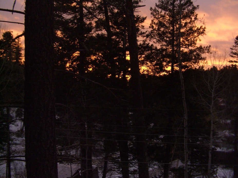 Snowy Day Sunset in the Sacramento Mtns (3)