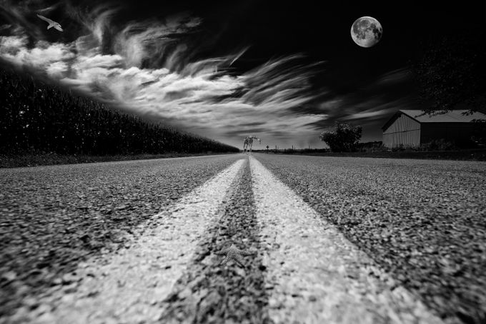 countryroad 51 by Kcable - The Moving Clouds Photo Contest