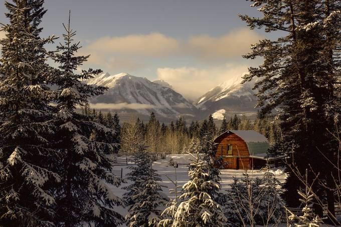 Golden Barn by CrackerJackFlash - Canada Photo Contest