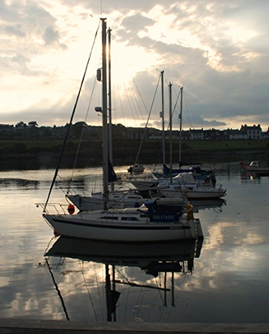 Yachts at Whithorn