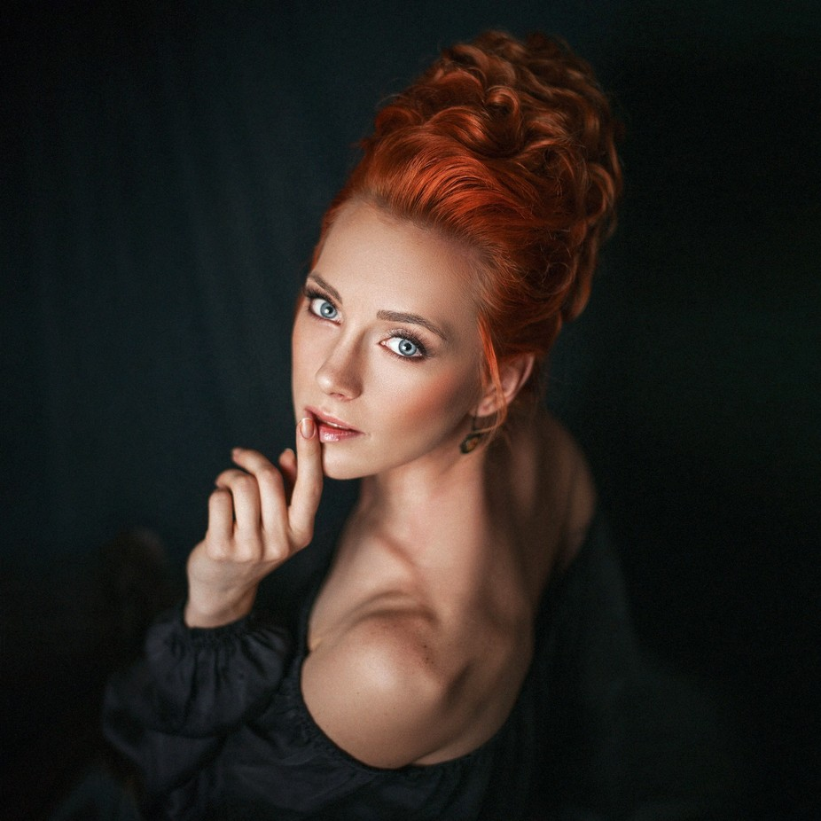 Ginger Woman  by LisaAnfisa - Red Hair Photo Contest
