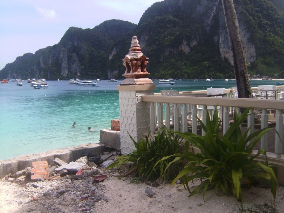 IT is at phiphi island at ANDAMANS SEA,THAILAND
