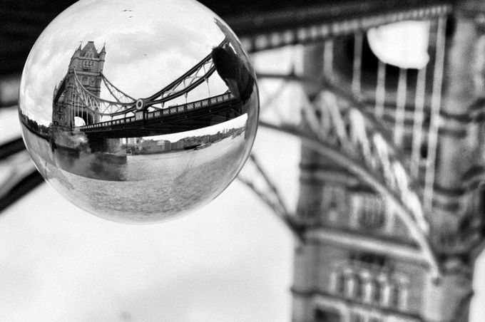 Black and White - Tower Bridge by MagTY - This Is Europe Photo Contest