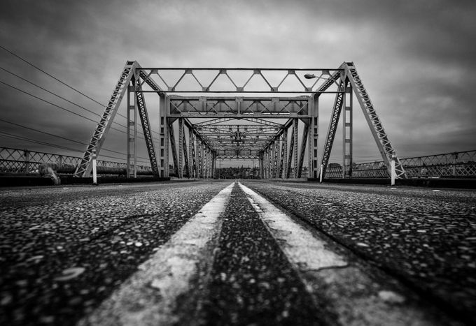 Bridge to Nowhere by jaredweaver - Geometry And Architecture Photo Contest