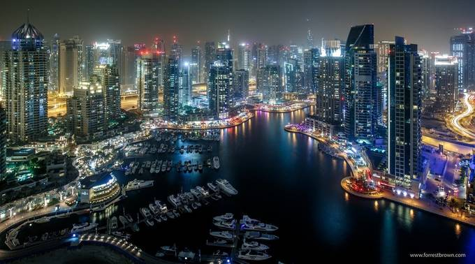 Dubai Marina by Forrest_Brown - Cities By The Water Photo Contest
