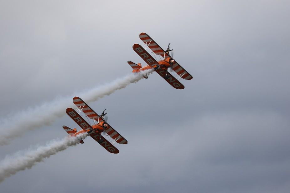 Red Bull Air Race held at The Royal Ascot