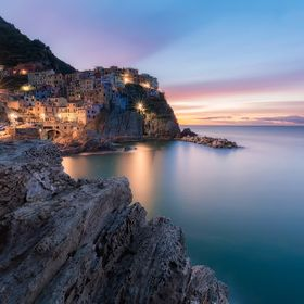 Manarola is one of the well known Cinque Terre Villages in Liguria (an Italian region). I love this place especially in winter, when the sun is r...