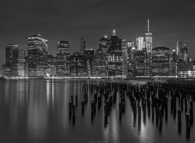 NYC in crispy B&W
