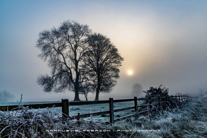 December Sunrise by inishots - Mist And Drizzle Photo Contest