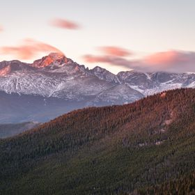 Sunrise in the Rockies - Rocky Mountains National Park, CO