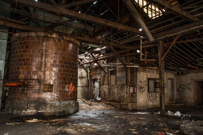 OZ Gedney Factory Ruins by 2ndhalfphotography - Warehouses Photo Contest