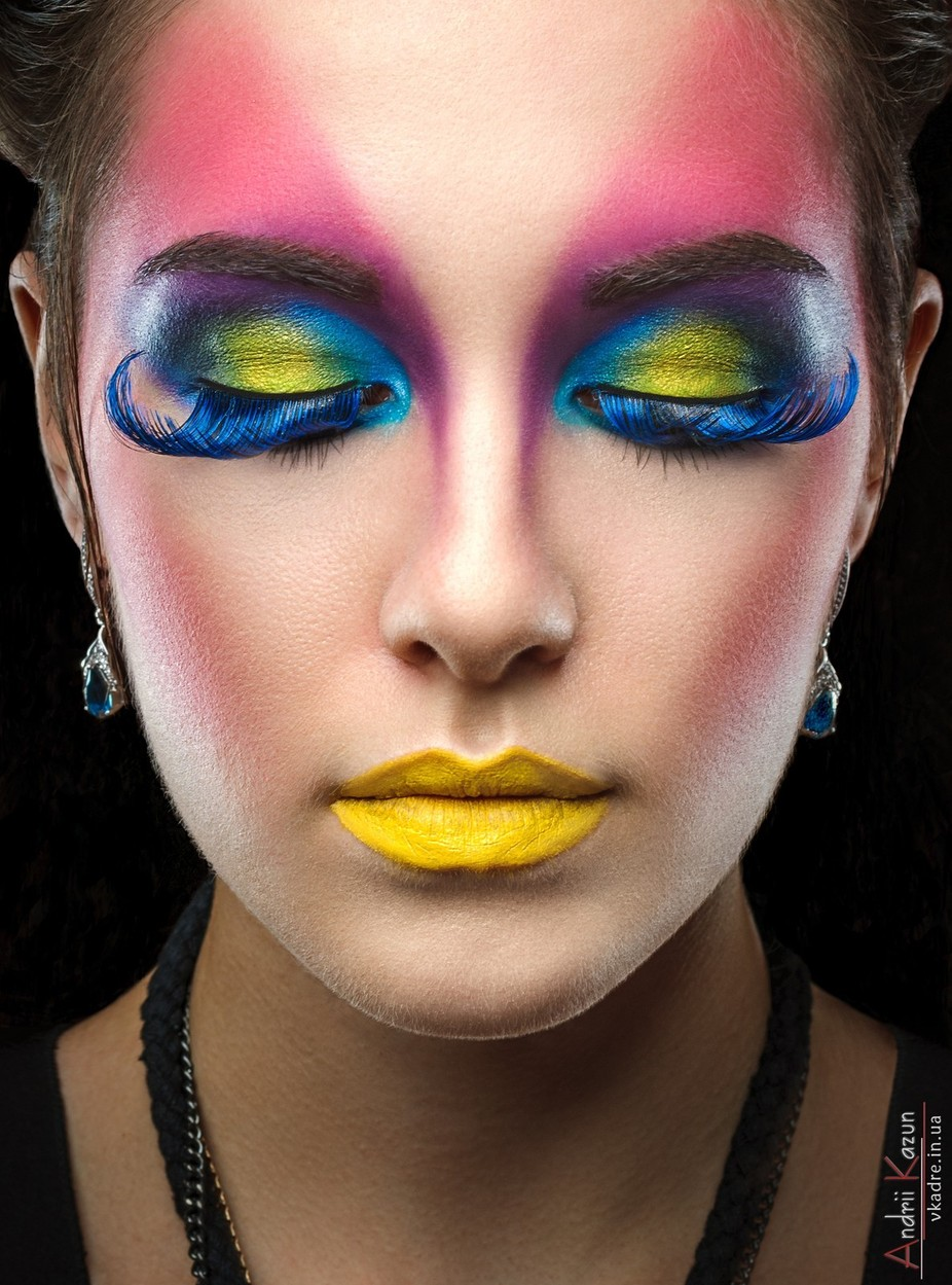 Art make-up by Andrii_Kazun - Pink Photo Contest