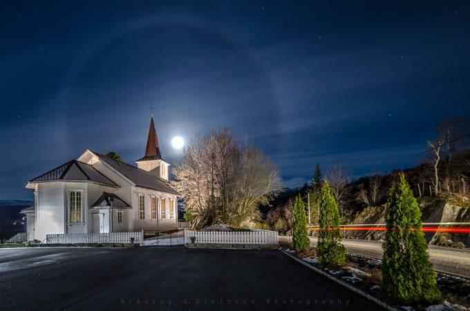 Moon Halo  by nikolaydimitrov - The Moonlight Photo Contest