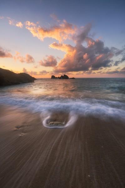 Lamai Beach sunrise