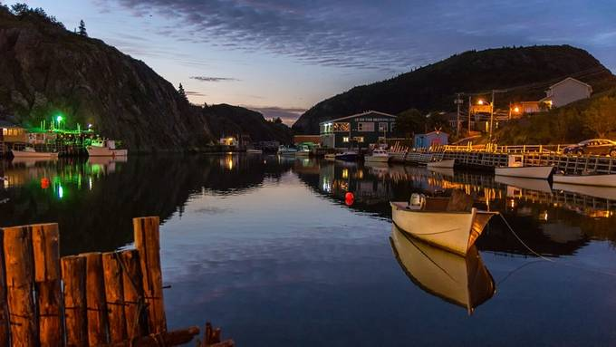 Fishing Village by Bogiebroph - City In The Night Photo Contest