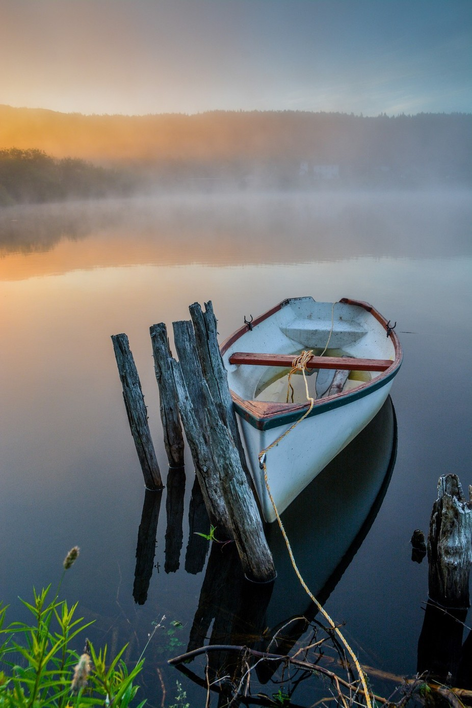 The Dory by Bogiebroph - Mist And Drizzle Photo Contest