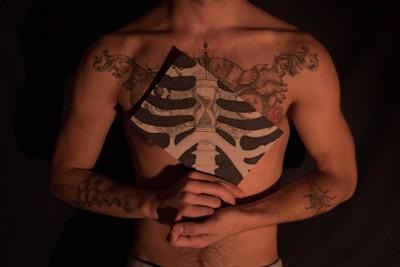 tattooed radiography