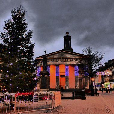 Xmas Lights in Elgin 03/12/16