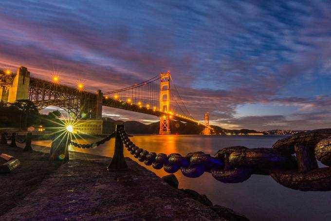GGB from Fort Point. by KZ1300 - Iconic Places and Things Photo Contest