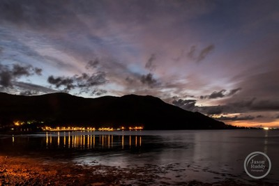 First Light in Rostrevor County Down Northern Ireland