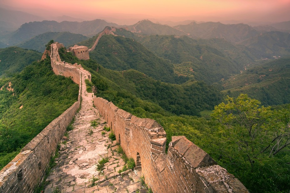 While visiting Bejing I wanted to get a good shot of the great wall. Because how can you not do t...