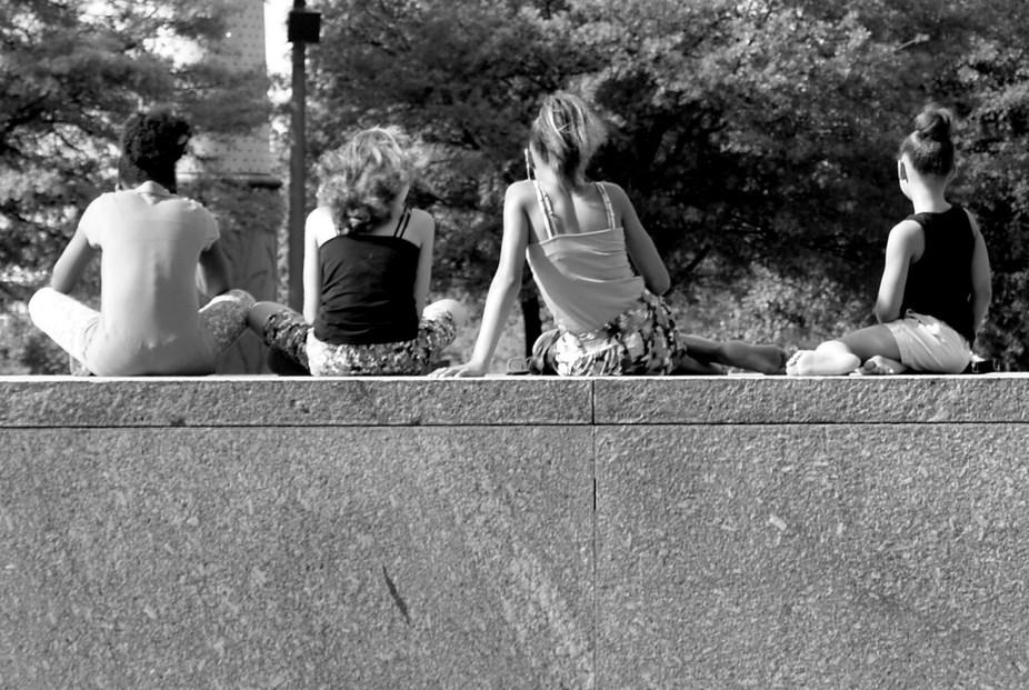 3 girls + 1