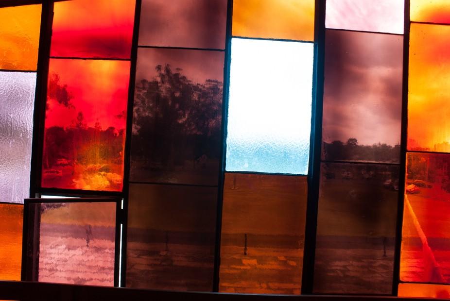 inside the church designed by Michael Dysart ;Marayong (suburb of Sydney)