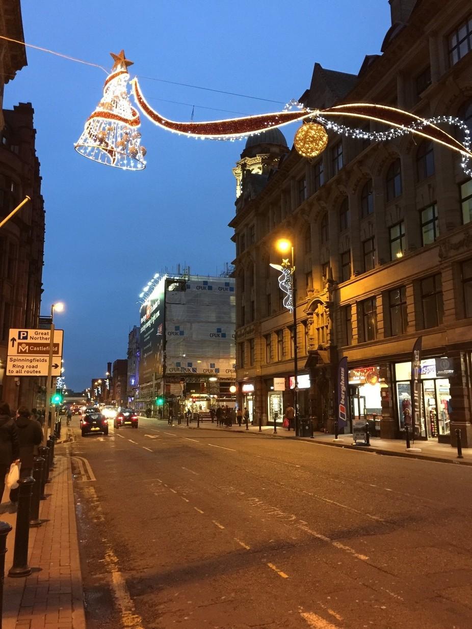 Deansgate Street, Manchester