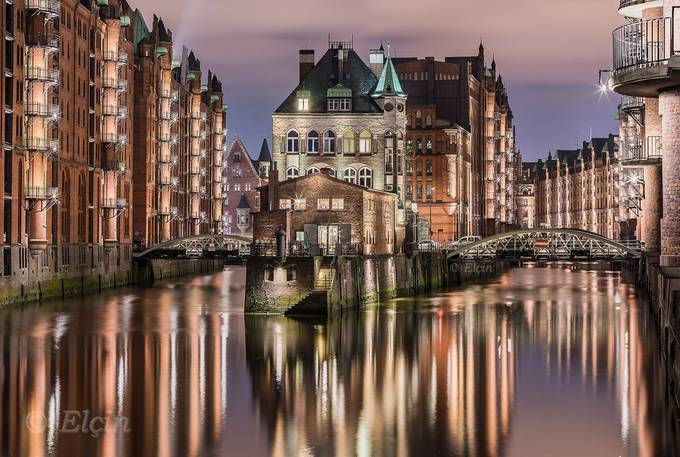 Hamburg by Elchin_Jabbarov - Canals Photo Contest