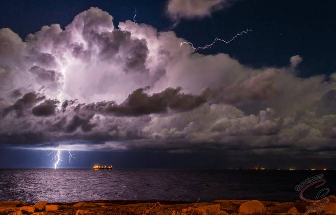 Storm on it's way  by Charltonb - Cloudy Nights Photo Contest