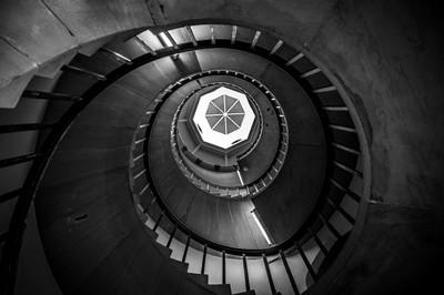 Helical Staircase, Cambridge, UK