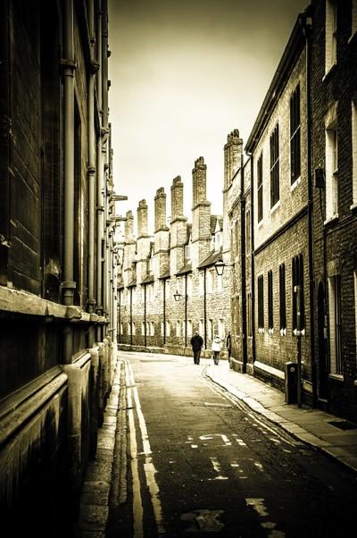 Streetscape, Cambridge, UK