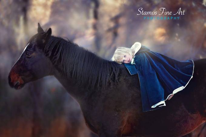 Best Friend by StamosFineArt - Kids And Pets Photo Contest