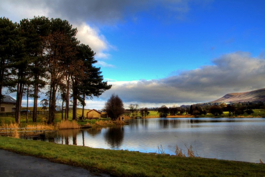 Pedle hill Lancashire UK