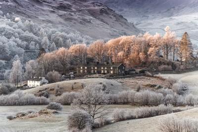 Hoar Frost, Little Langdale, Cumbria, England.