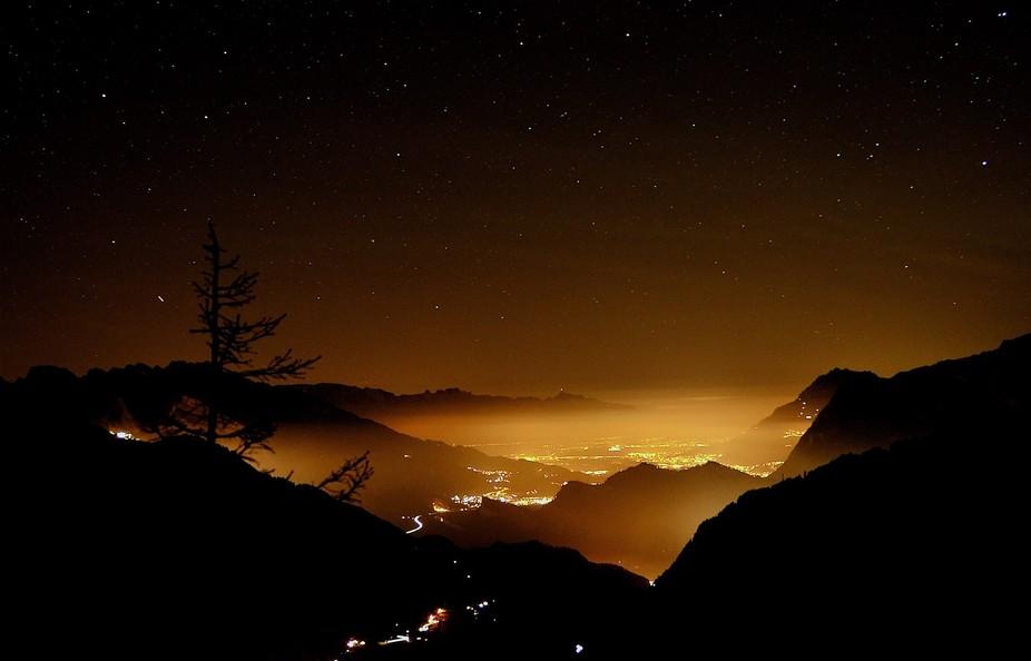 Swiss rhine valley