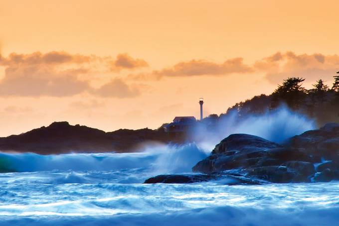 Lennard Lighthouse by kenmcall - Boulders And Rocks Photo Contest