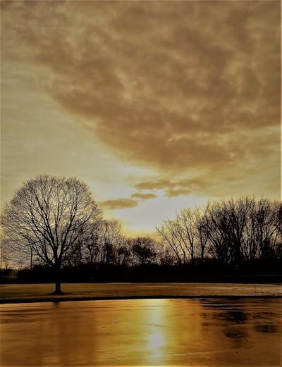 Caramel Sunset