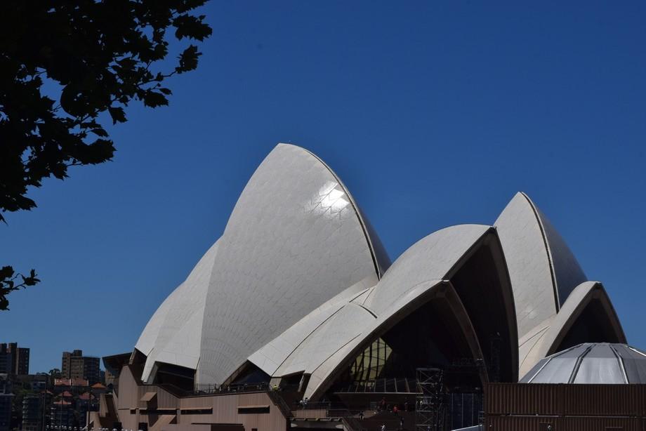 Sydney Opera House early