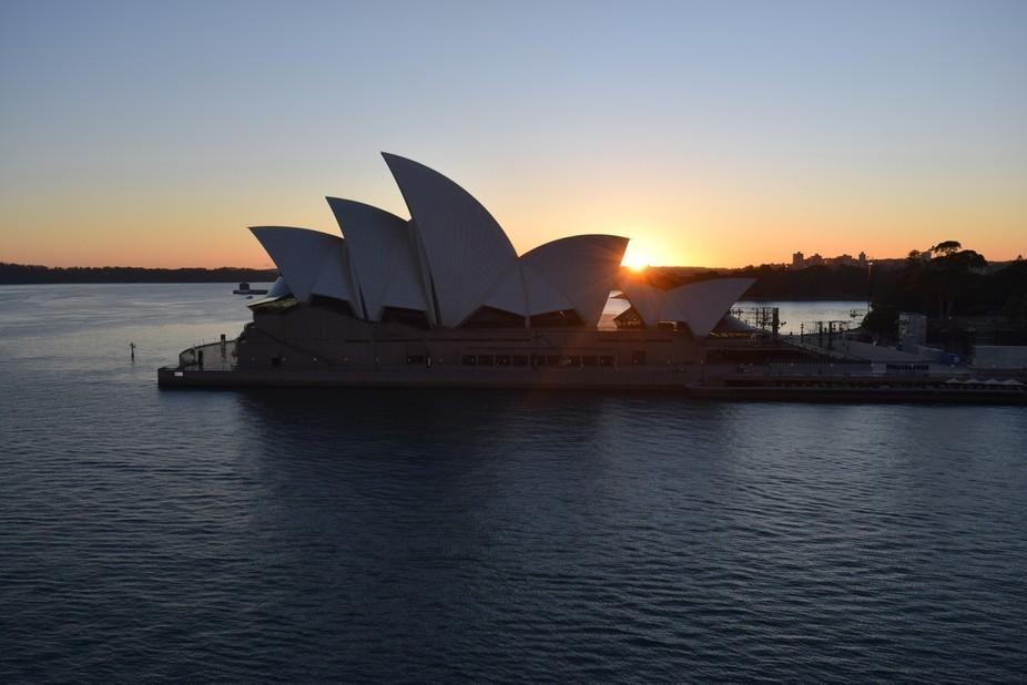 Sunrise over Opera House