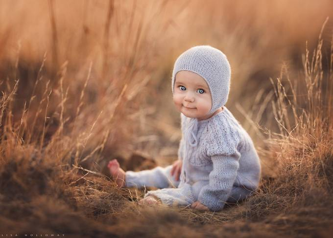 Happy Girl! by lisaholloway - Baby Face Photo Contest