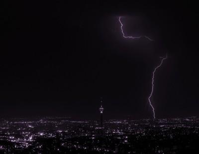 Tehran Lighting Bolt