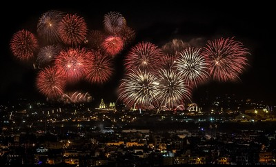 Malta Explodes with Fireworks