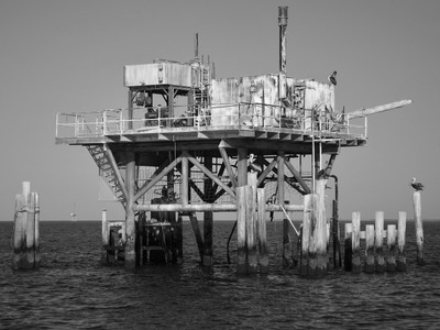 Abandoned Oil Rig