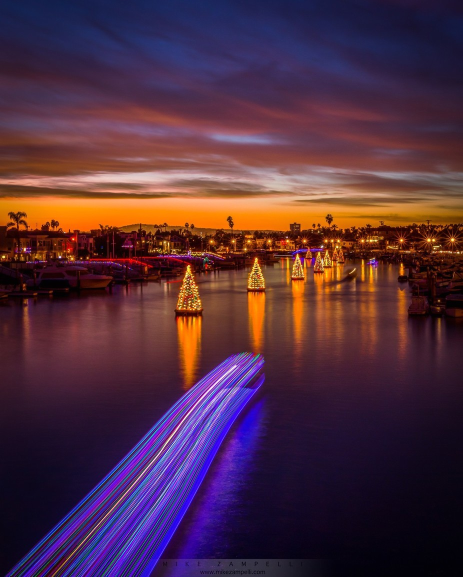 Christmas in Cali by Rinkrat - Holiday Lights Photo Contest 2017