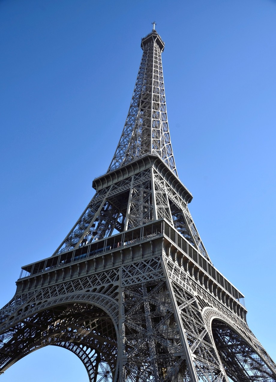 One of the most well known landmarks in the world. The Iconic Eiffel Tower stands at 1.063 feet tall. It was built for the International Exhibition of Paris in 1889.